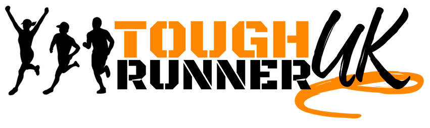 This is the black version of Tough Runner UK main logo