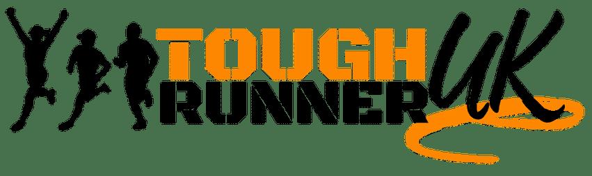 This is the black version of Tough Runner UK main logo