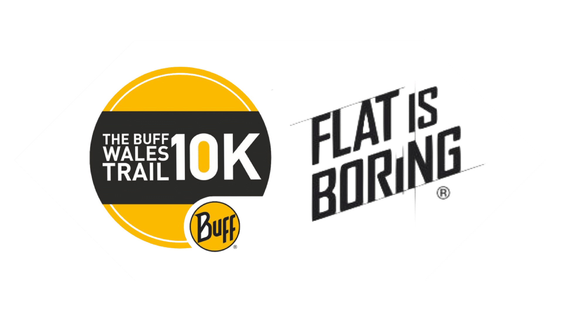 This is the buff 10k flat is boring logo variation
