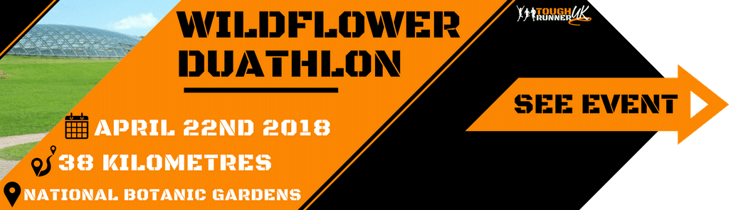 This is the wildflower duathlon event information. Event taking place on 22nd April 2018 at The National Botanic Garden Of Wales