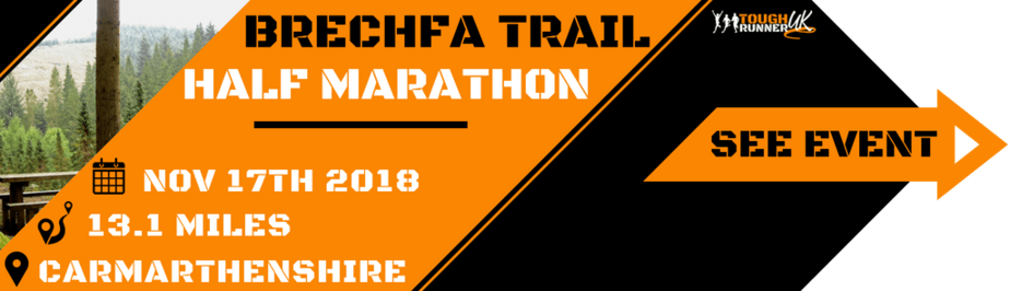 Information on the Brechfa Half Marathon taking place near Carmarthen