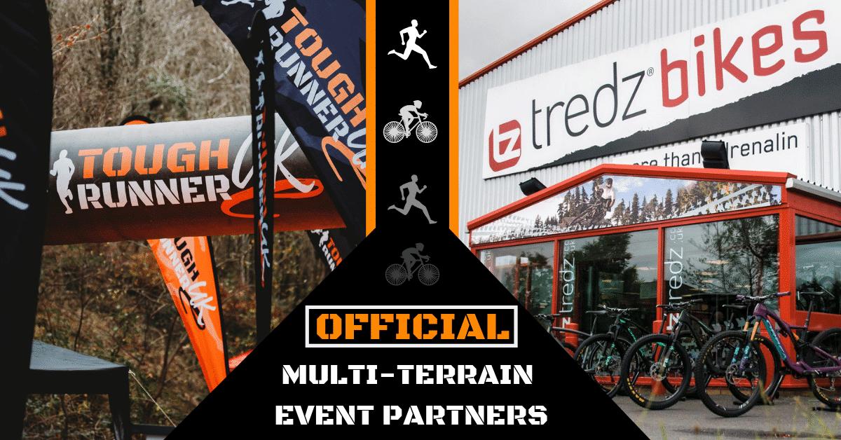 Tredz, now the official multi terrain partners of Tough Runner UK