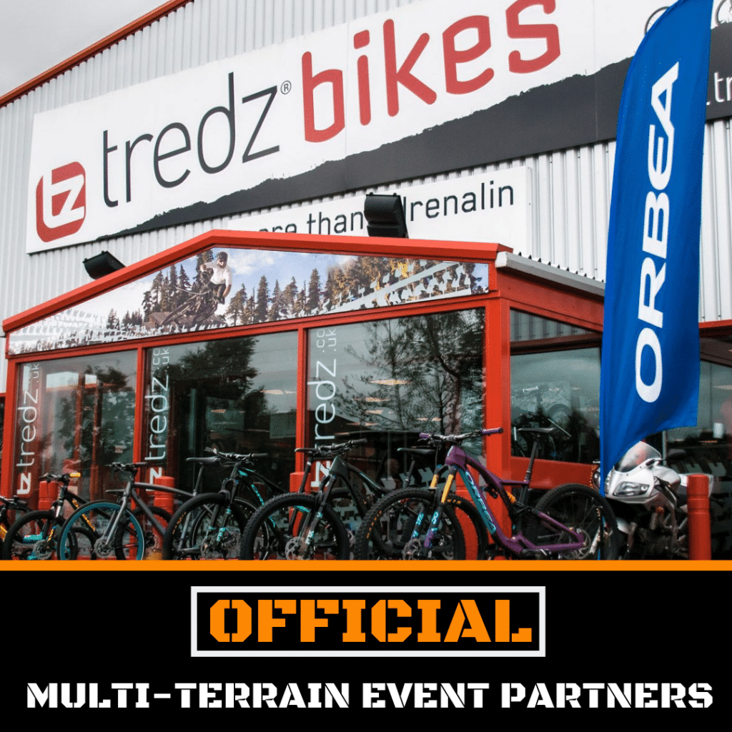 Tredz Bikes now official partner of Tough Runner UK events