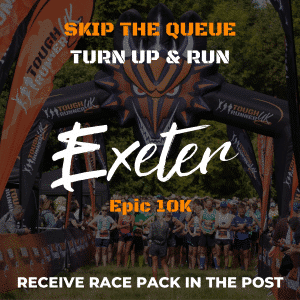 Exeter 10k – Skip The Queue – Race Number Via Post