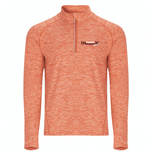 TR Tech Orange – Long Sleeve with 1/4 Zip