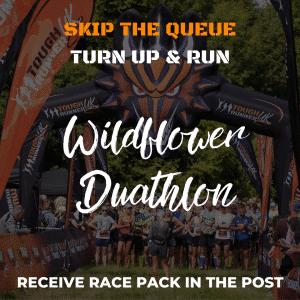 Wildflower Duathlon – Skip The Queue – Race Number Via Post