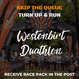 Westonbirt Duathlon – Skip The Queue – Race Number Via Post