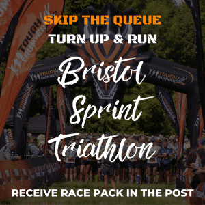 Bristol Sprint Triathlon – Skip The Queue – Race Number Via Post