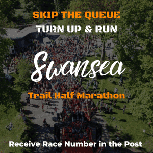 Swansea Trail Half Marathon- Skip The Queue – Race Number Via Post