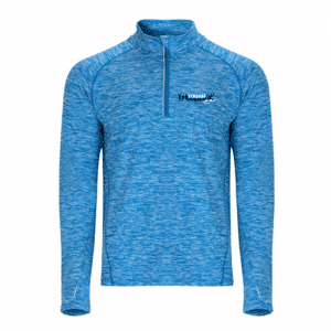 TR Tech Blue – Long Sleeve with 1/4 Zip