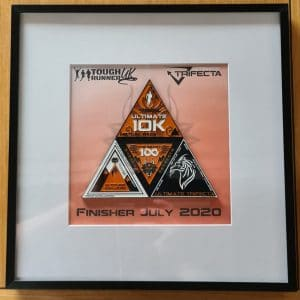 The Ultimate Trifecta July Display Frame