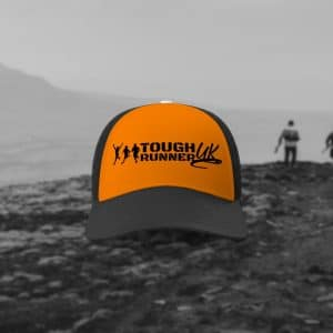 Orange/Black Tough Runner UK Trucker