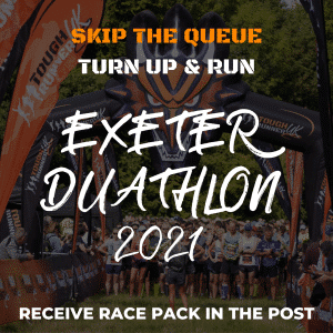 Exeter Duathlon – Skip The Queue – Race Number Via Post
