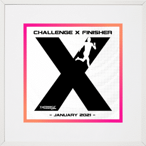 Challenge X January Display Frame