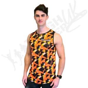 Tough Runner Geometric Running Vest