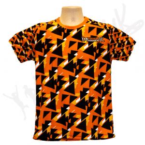 Tough Runner Geometric Running T shirt