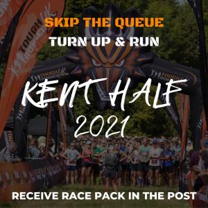 Kent Half – Skip The Queue – Race Number Via Post