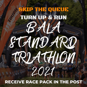 Bala Standard Triathlon – Skip The Queue – Race Number Via Post