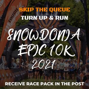 Snowdonia Epic Trail 10k- Skip The Queue – Race Number Via Post