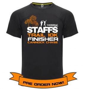 Staffs 10k T-shirt