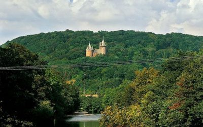 This is a stunning image of Castell Coch in Fforest Fawr, where the Cardiff Epic 10k will be taking place