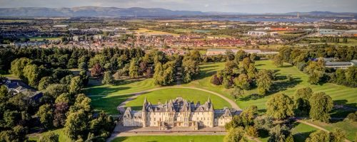 Calendar House in Falkirk, the home of the Falkirk Epic Trail 10K from Tough Runner UK